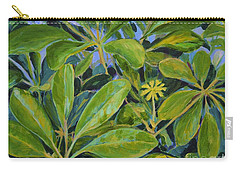 Schefflera-right View Carry-all Pouch