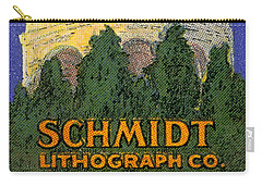 Schmidt Lithograph  Carry-all Pouch