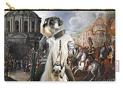 Schnauzer Art - A Siege The Sack Of Rome   Carry-all Pouch