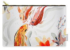 School Carry-all Pouch by Beverley Harper Tinsley
