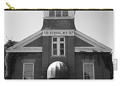 Carry-all Pouch featuring the photograph School House by Michael Krek
