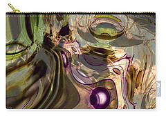 Carry-all Pouch featuring the digital art Sci-fi Fury by Richard Thomas