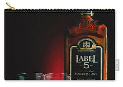 Scotch Whisky Digital Art Carry-All Pouches