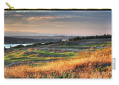 Scottish Style Links In September - Chambers Bay Golf Course Carry-all Pouch