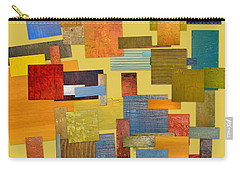 Carry-all Pouch featuring the painting Scrambled Eggs Lll by Michelle Calkins