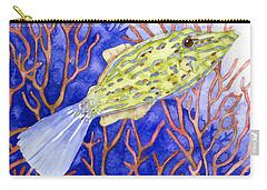 Scrawled Filefish Carry-all Pouch