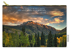 Scripture And Picture Isaiah 55 12 Carry-all Pouch