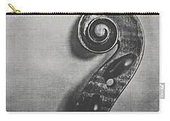 Scroll In Black And White Carry-all Pouch