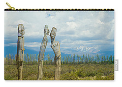 Sculpture In The Andes Carry-all Pouch