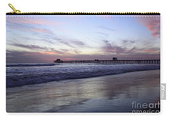 Carry-all Pouch featuring the photograph Oceanside by John F Tsumas
