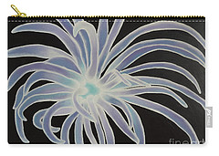 Carry-all Pouch featuring the painting Sea Anemone by Dianna Lewis