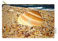 Sea Beyond The Shell Carry-all Pouch by Kaye Menner