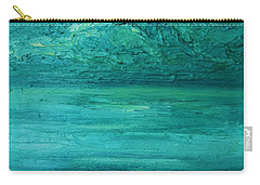 Sea Blue Carry-all Pouch