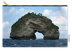 Carry-all Pouch featuring the photograph Sea Gate by Sergey Lukashin