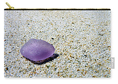 Sea Glass In Amethyst Carry-all Pouch