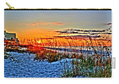 Sea Oats At Sunrise Carry-all Pouch