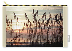 Fabulous Blue Sea Oats Sunrise Carry-all Pouch