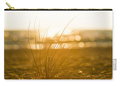Carry-all Pouch featuring the photograph Sea Oats Sunset by Sebastian Musial
