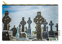 Sea  Of Celtic Crosses Carry-all Pouch