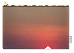 Sea Of Clouds Sunset Carry-all Pouch