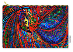 Sea Of Peacock Carry-all Pouch