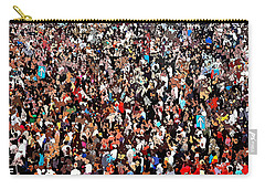 Carry-all Pouch featuring the photograph Sea Of People by Glenn McCarthy Art and Photography