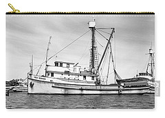 Purse Seiner Sea Queen Monterey Harbor California Fishing Boat Purse Seiner Carry-all Pouch