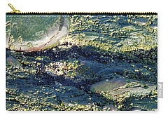 Carry-all Pouch featuring the photograph Sea Rocks by Robert Nickologianis