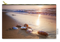 Sea Shells On Sand Carry-all Pouch