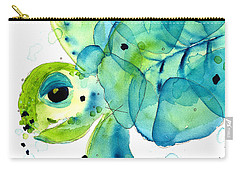 Sea Turtle Carry-all Pouch by Dawn Derman