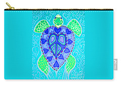Sea Turtle Swim Carry-all Pouch