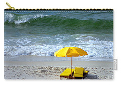 Carry-all Pouch featuring the photograph By The Sea Waiting For Me by Nava Thompson