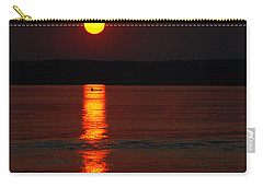 Seabrook Sunset Carry-all Pouch
