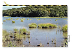 Carry-all Pouch featuring the photograph Seagrass by Ed Weidman
