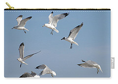Seagulls See A Cracker Carry-all Pouch