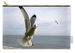 Inquisitive Seagull Carry-all Pouch