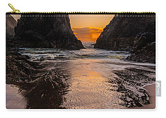 Seal Rock 1 Carry-all Pouch by Jacqui Boonstra