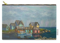 Seascape Boat Paintings Carry-all Pouch