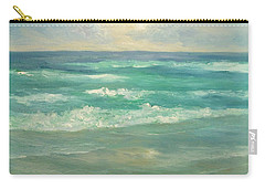 Seascape  Glowing Sunset Carry-all Pouch