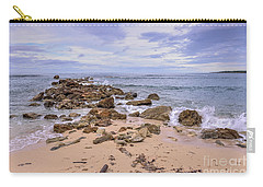 Seascape With Rocks Carry-all Pouch