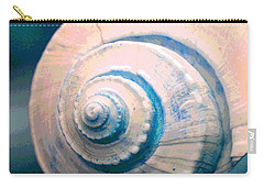 Seashell In Pastel Carry-all Pouch