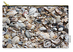 Seashells On The Beach Carry-all Pouch