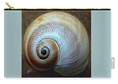 Carry-all Pouch featuring the photograph Seashells Spectacular No 36 by Ben and Raisa Gertsberg