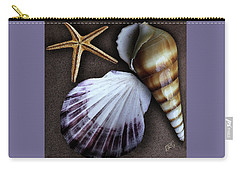 Seashells Spectacular No 37 Carry-all Pouch by Ben and Raisa Gertsberg