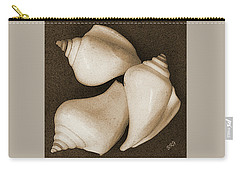 Seashells Spectacular No 4 Carry-all Pouch by Ben and Raisa Gertsberg