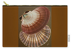 Carry-all Pouch featuring the photograph Seashells Spectacular No 53 by Ben and Raisa Gertsberg