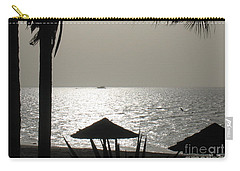 Carry-all Pouch featuring the photograph Seaside Dinner For Two by Patti Whitten