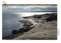 Carry-all Pouch featuring the photograph Seasider by Mim White