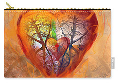 Season Of The Heart Carry-all Pouch