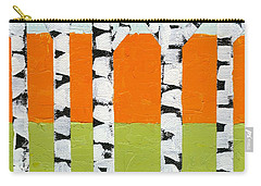 Seasonal Birches - Spring Carry-all Pouch